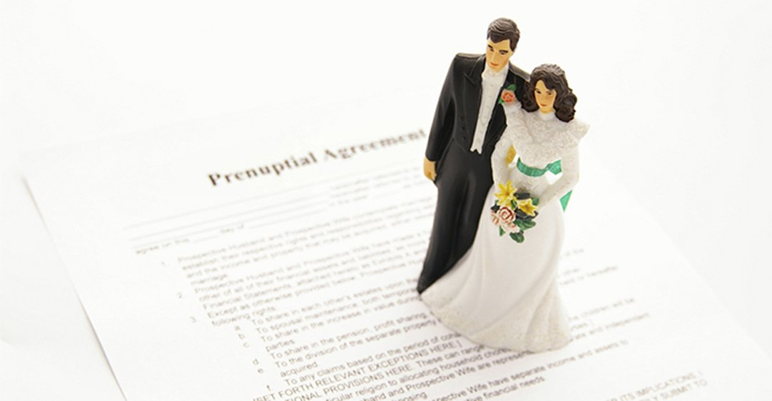 PRENUPTIAL OR BINDING FINANCIAL AGREEMENTS